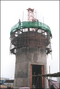 内蒙古烟囱施工/内蒙古混凝土烟囱施工/内蒙古烟囱滑模