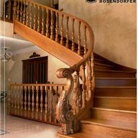 宁波楼梯 实木楼梯 楼梯扶手 栏杆 楼梯配件