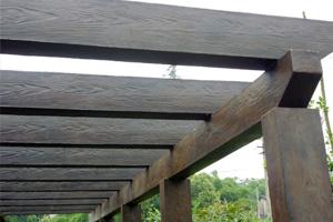 GRC欧式构件仿木系列芜湖青龙