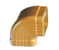 供应彩铝落水系统  方形雨水管  彩铝圆管
