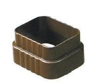 供应彩铝雨水管  金属落水系统 天沟  方管