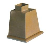 供应彩铝雨水斗  铝合金雨水斗 定制雨水斗
