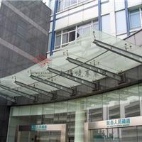 供应上海大型钢结构玻璃雨篷