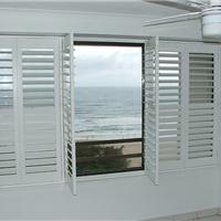 供应欧式透气窗 活动百叶窗 实木百叶窗