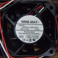 NMB 2406KL-05W-B59 24V 0.13A变频风扇