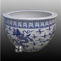 供应青花龙纹陶瓷大缸