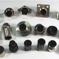 供应M12航空插座,M12传感器插座1只起订