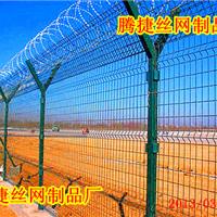克拉玛依钢丝护栏网|浸塑隔离栅|工厂围墙网