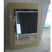 供应优质夹绢浴室镜 花色齐全 样式新颖