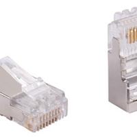 RJ45网络水晶头低价格(含17%增票)0.22元/个