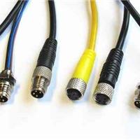 M8全屏蔽防水接插线,M8传感器接插线