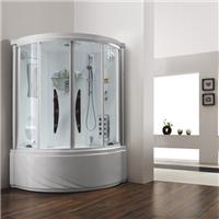 供应干湿蒸桑拿蒸汽房整体淋浴房电脑蒸汽房