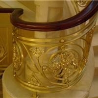 铜星铜艺-铜楼梯-经典郁金香
