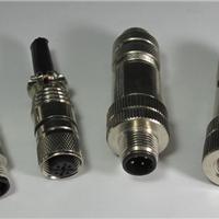 供应M12全屏蔽连接器,M12屏蔽接头