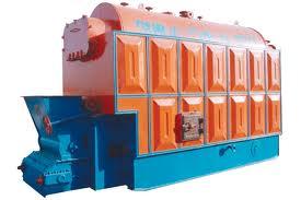 供应内蒙古1吨链条燃煤蒸汽锅炉-2吨热水