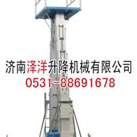 供应济南泽洋高品质自行式铝合金升降机