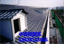 供应徐州 盐城 镇江 扬州合成树脂瓦|塑钢瓦直销|防腐瓦厂家