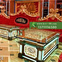 供应广州ktv家具厂家订做ktv沙发发光茶几
