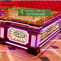 供应广州ktv家具厂家订做酒吧沙发发光茶几
