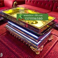 供应广州ktv家具厂家订做欧式沙发发光茶几