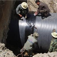 四川HDPE钢塑复合增强缠绕管