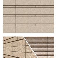 供应3D喷墨仿石外墙砖一品红系列