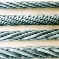 供应钢丝绳1*7 6*7不锈钢材 规格齐全
