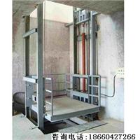 供应黑河导轨链条升降货梯(300kg-10吨选购)