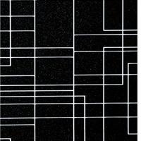 供应联众正材不锈钢彩板黑色u形线条覆膜板
