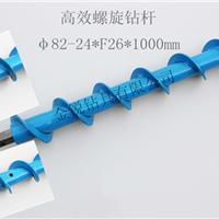 42高效螺旋钻杆,四方通水螺旋钻杆