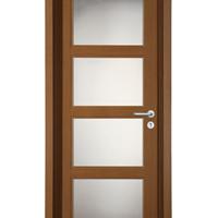 供应木门 免漆套装木门 实木复合玻璃门
