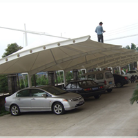 供应昆山车篷、张浦车棚、张浦停车棚