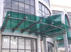 供应大连玻璃门不锈钢门黑钢玻璃门制作安装