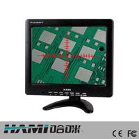 供应AV接口BNC接口带十字线打孔机显示器