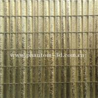 供应金箔弧玻条马赛克 玻璃马赛克
