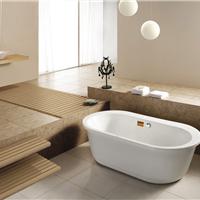普通水疗浴缸亚克力经典欧式独立双人浴缸