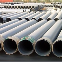 供应马鞍山DE250灰色UPVC农林灌溉管直销
