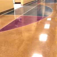 供应常州彩色耐磨固化密封地坪  地坪施工