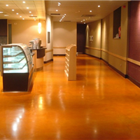供应泰兴彩色固化地坪  混凝土固化地坪