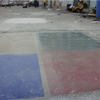 承接杭州彩色耐磨密封固化地坪施工工程
