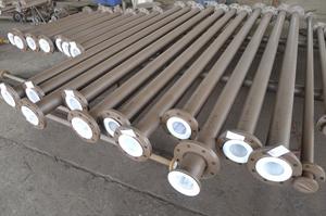 供应衬四氟管道―电厂活性酸输送专用管道