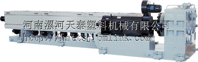 聚氨酯保温管挤出设备漯河外护管挤出机组