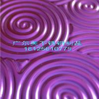 供应色彩鲜艳  款式新潮不锈钢压花板