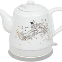 供应定做茶壶 陶瓷电热水壶 热水壶加字