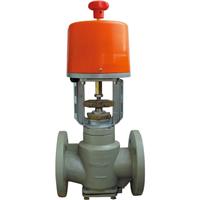 供应进口直行程动态平衡电动调节阀