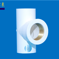 PP-R热熔、冷热给水管件 内螺纹三通白色