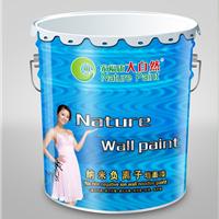 供应央视推广品牌大自然纳米负离子墙面漆