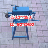 供应手动辘骨机 压槽机价格 铁板压线机商机