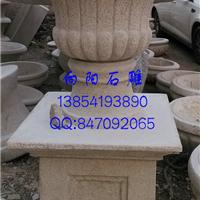 供应园林石雕花盆花钵厂家批发价格