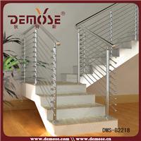 供应不锈钢楼梯栏杆/不锈钢拉丝栏杆